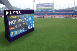 1-Sided LED Video scoreboard for field events