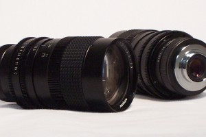 manual c-mount zoom lens