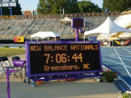 New Balance Nationals Display Board