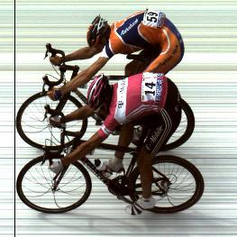 Tour de France photo-finish 2005