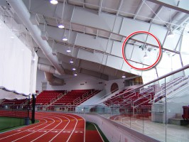 finish line camera at Boston University track