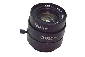 Fixed 6mm CS lens