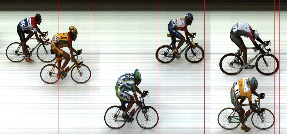 FinishLynx cycling image capture