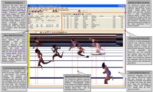 FinishLynx sports timing software interface
