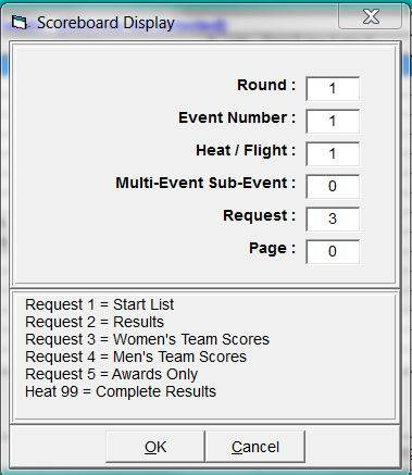 Sending Team Scores from Hy-Tek to ResulTV | News, Support