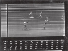 Old Accutrack photo-finish capture