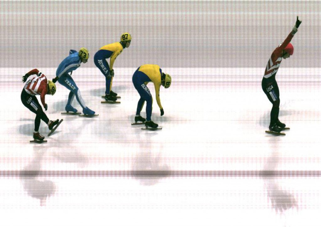 Speed Skating Photo-Finish Capture