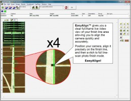 EasyAlign 2-D Video Alignment Software Screenshot