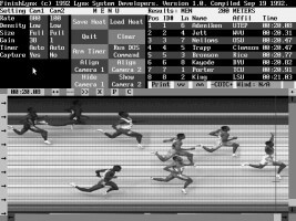 FinishLynx 1.0 software screenshot