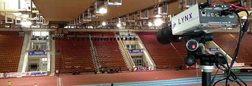 FinishLynx at the IAAF Winter Meeting in Moscow, Russia