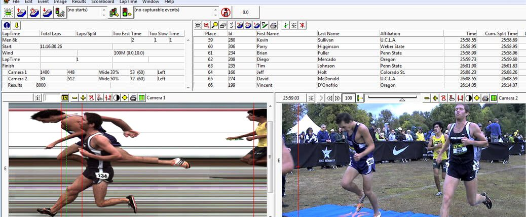 Timing XC Races with FinishLynx & IdentiLynx Video