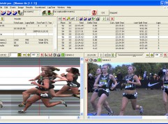 Gara fotofinish software screenshot