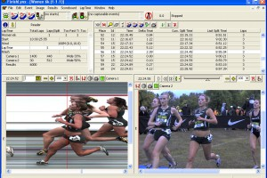 logiciel FinishLynx photo-finish capture d'écran
