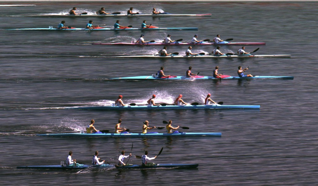 Wide Kayak FinishLynx Image