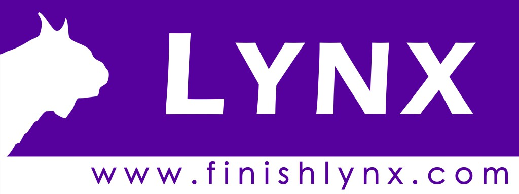 Μωβ FinishLynx Logo jpg