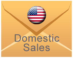 mail to domestic sales