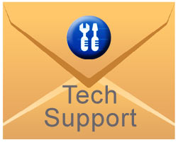 mail à un support technique
