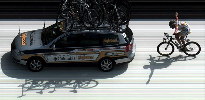 Tour de France photo-finish image capture