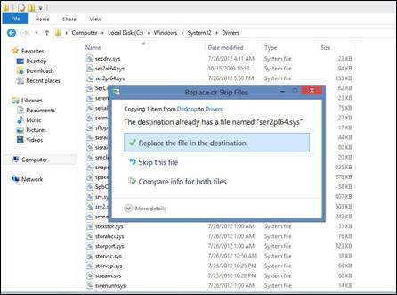Windows 8 Replace USB Driver Confirmation