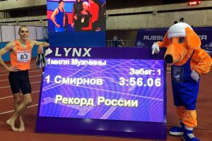 Lynx LED display shows off a new 1600m record in Russia
